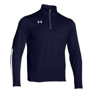 Under Armour Qualifier 1/4 Zip Pullover Navy Small